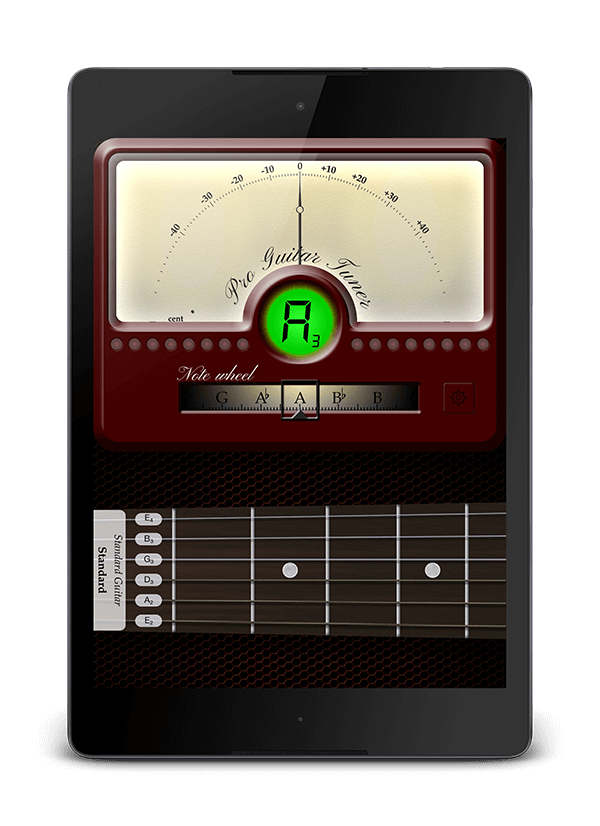 Guitar Tuner Tablet
